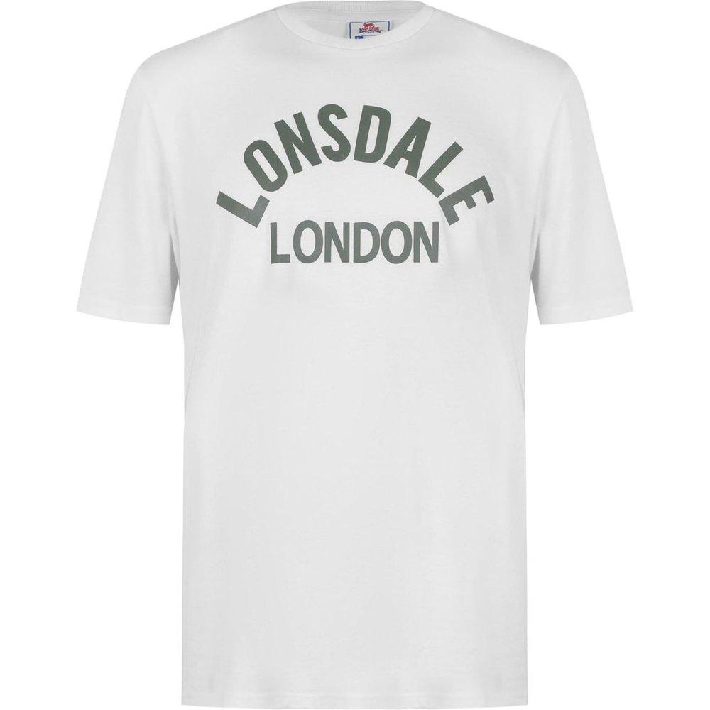 T-shirt col rond manche courte - Lonsdale - Modalova