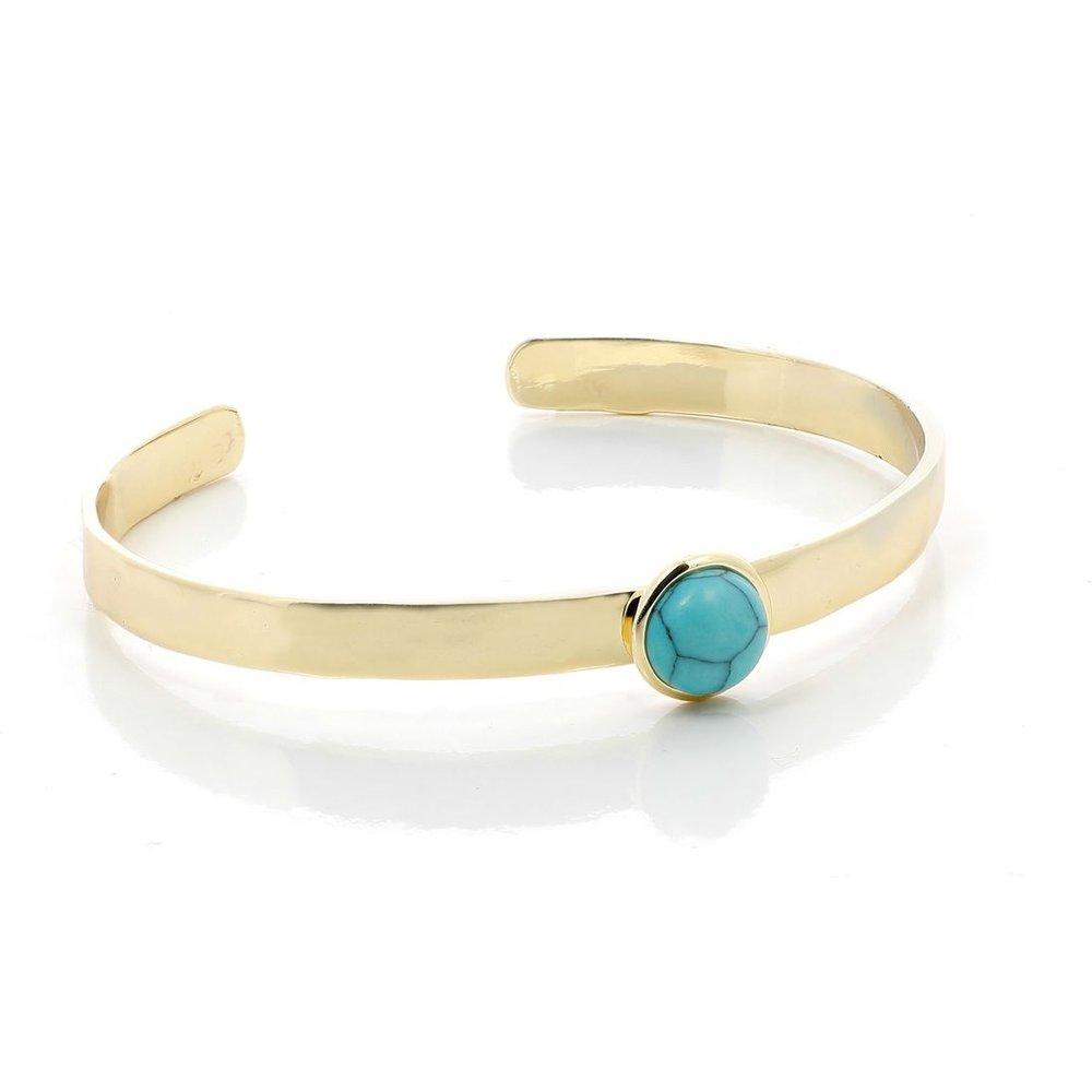 Bracelet jonc turquoise - NATURE ET DECOUVERTES - Modalova