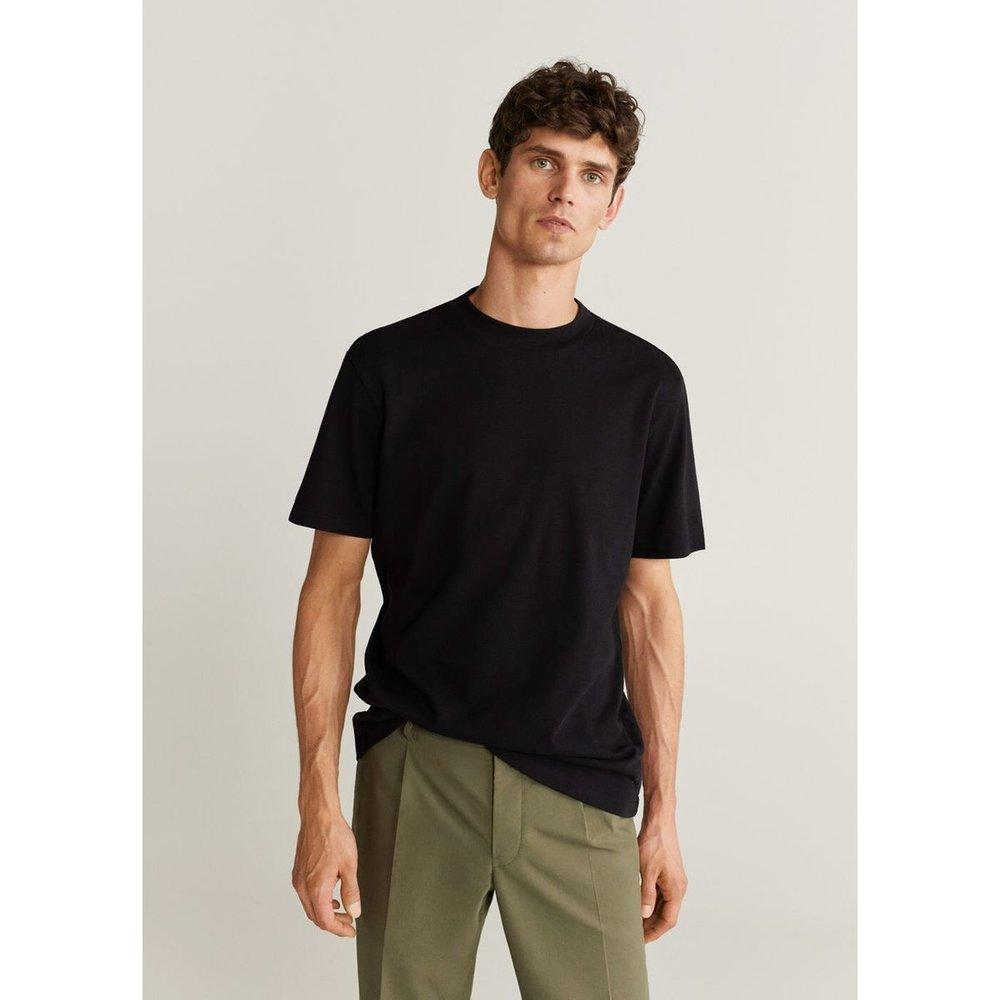 T-shirt regular-fit coton - mango man - Modalova
