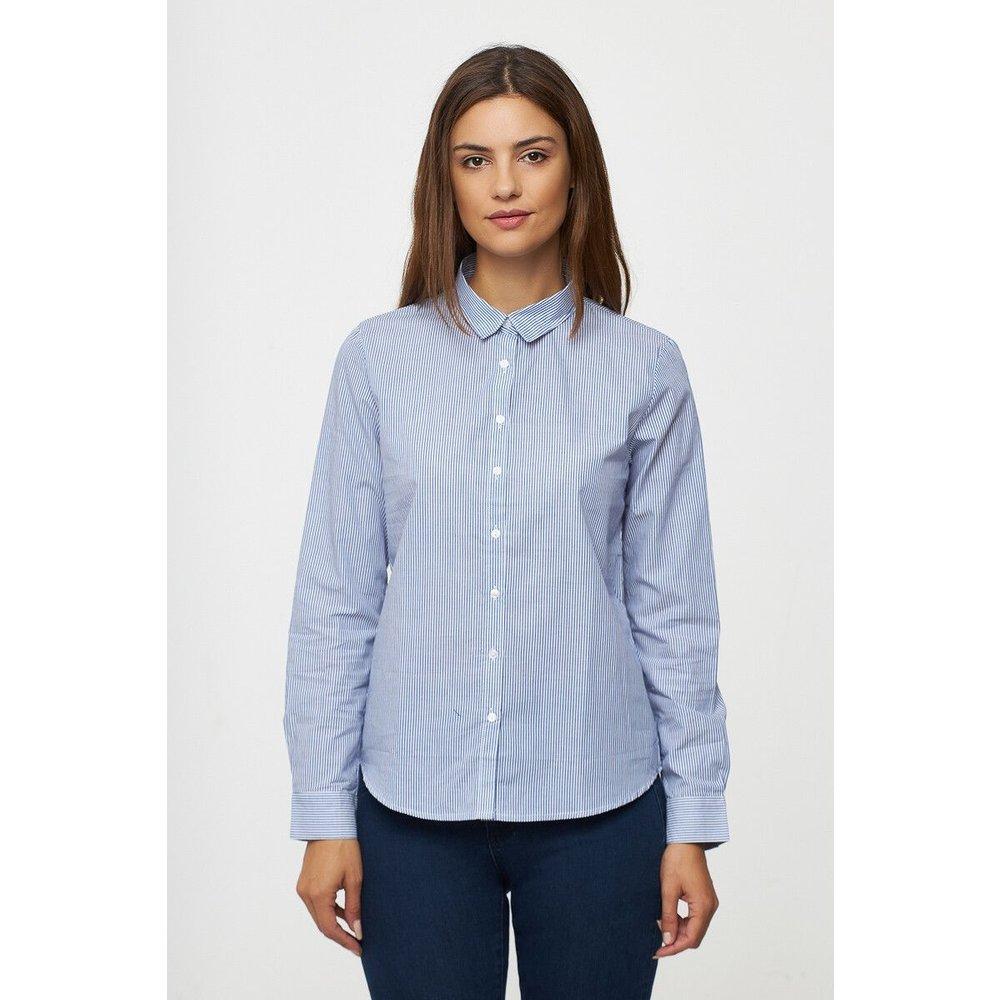 Chemise à rayures en popeline - BEST MOUNTAIN - Modalova