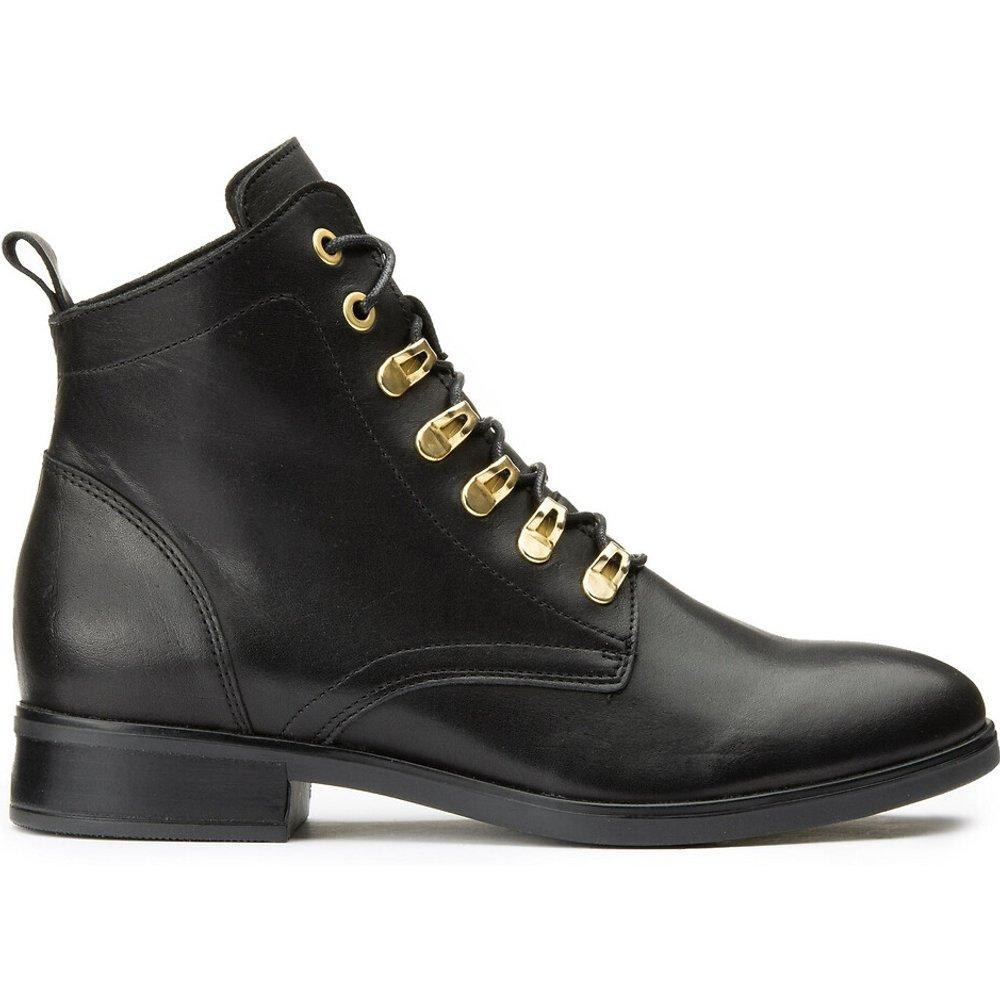 Boots cuir à lacets - LA REDOUTE COLLECTIONS - Modalova