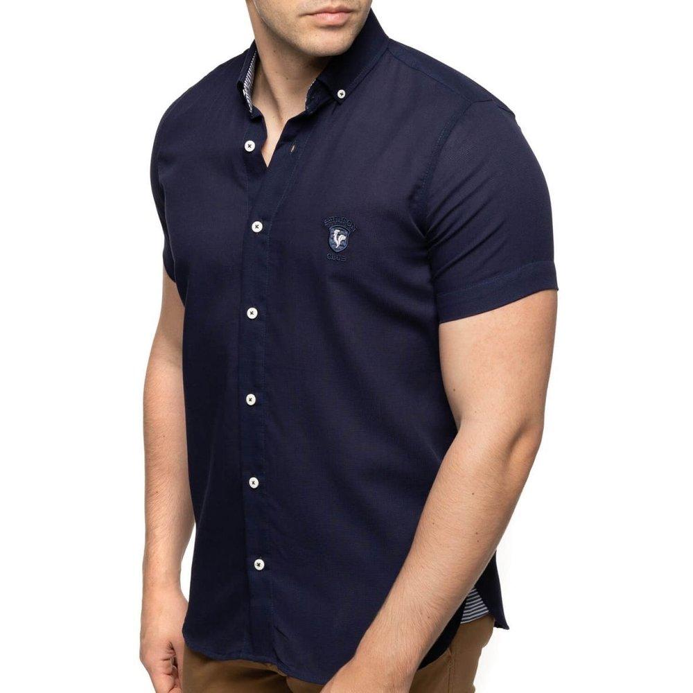 Chemise manches courtes droite légère - SHILTON - Modalova