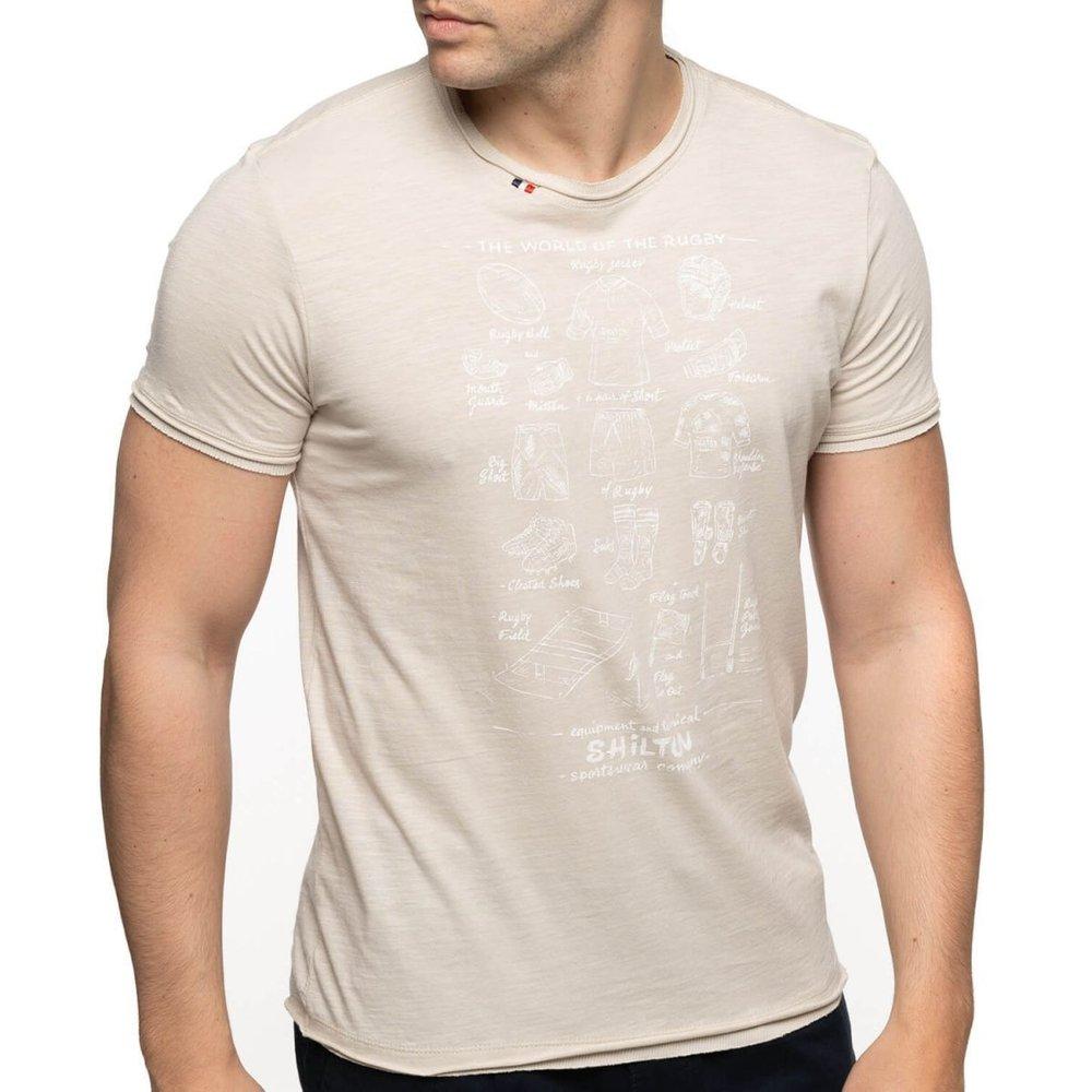 T-shirt rugby manches courtes EQUIPEMENTS - SHILTON - Modalova