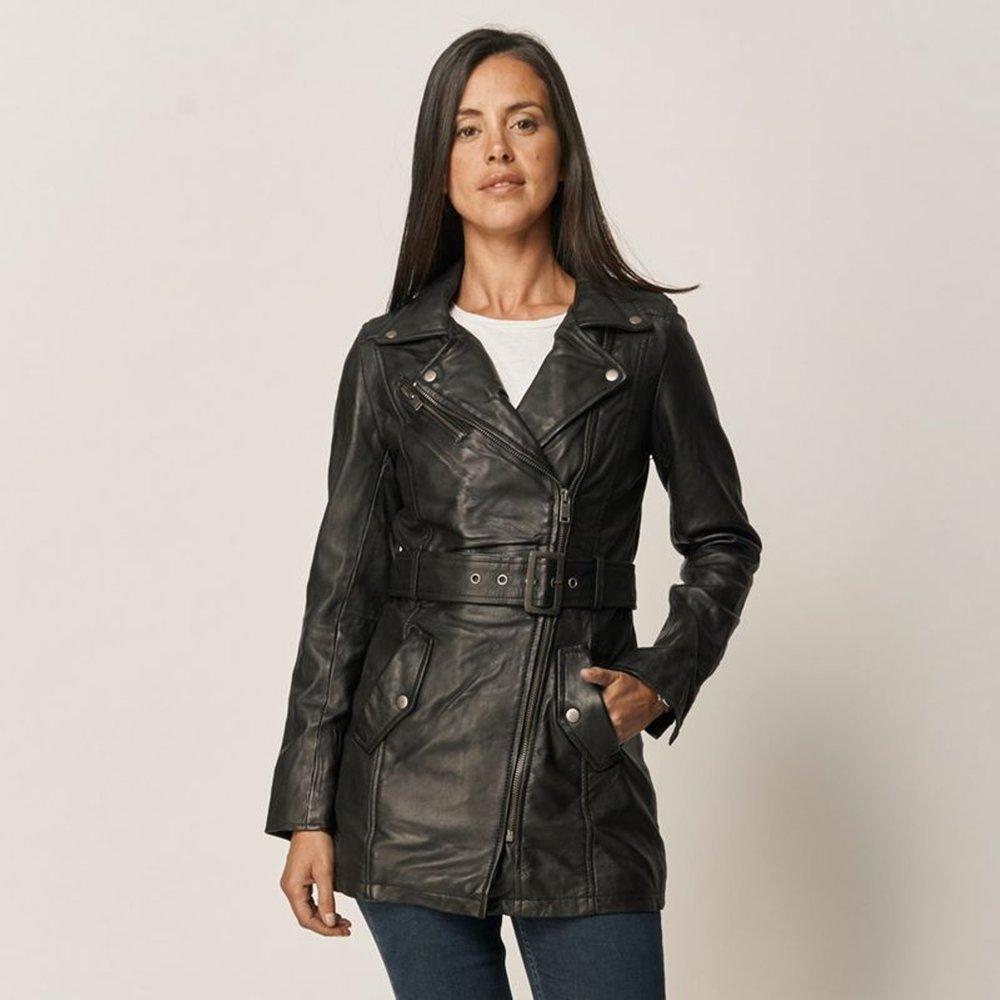 Manteau cuir BEATRIZ - Lee Cooper - Modalova
