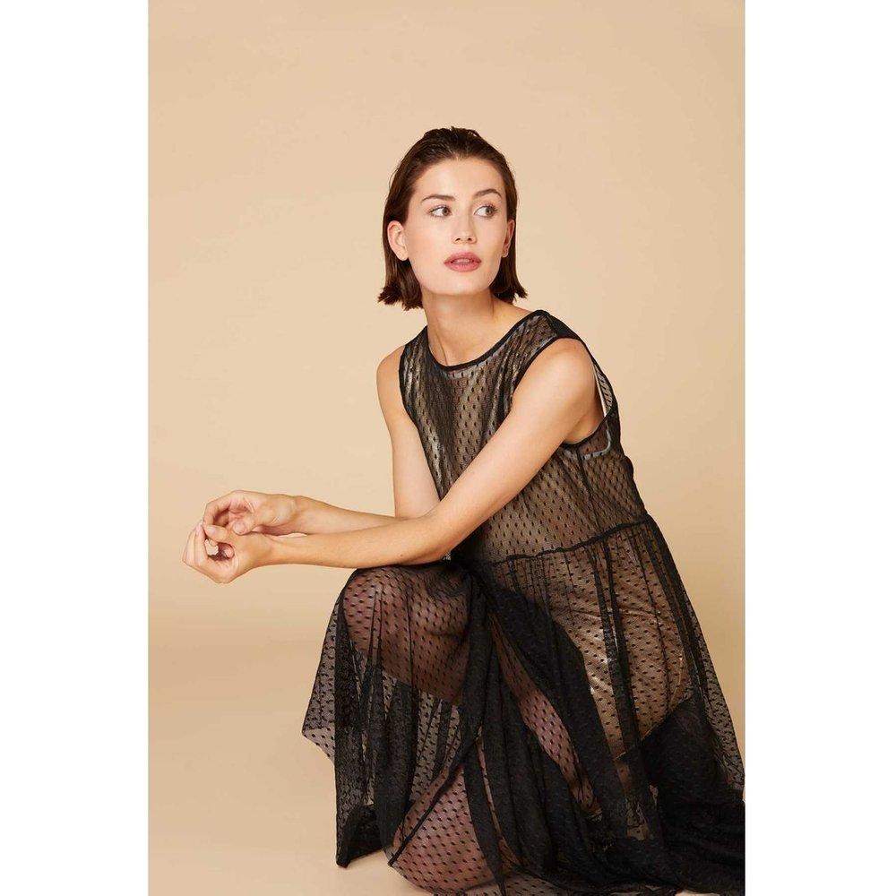 Robe longue ample en tulle - Adequat - DERHY - Modalova