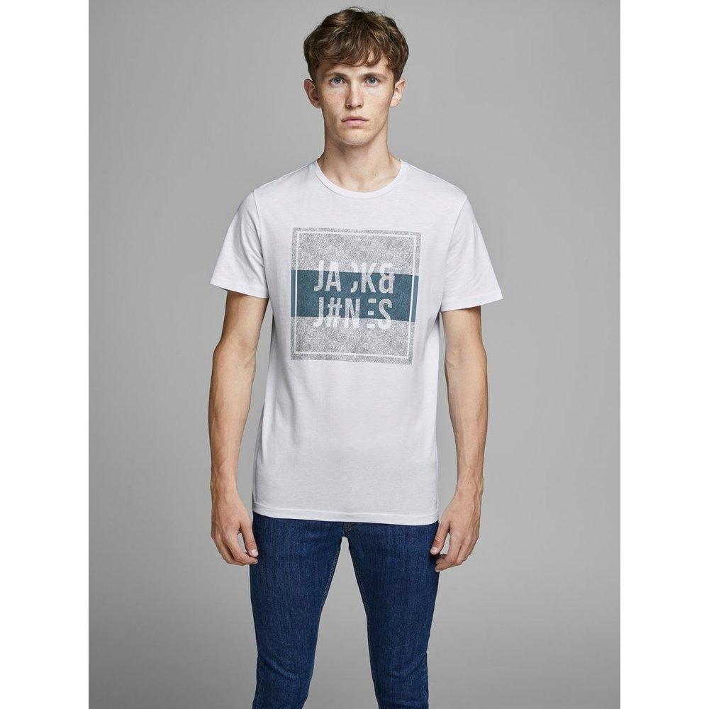 T-Shirt Imprimé sur le devant - jack & jones - Modalova