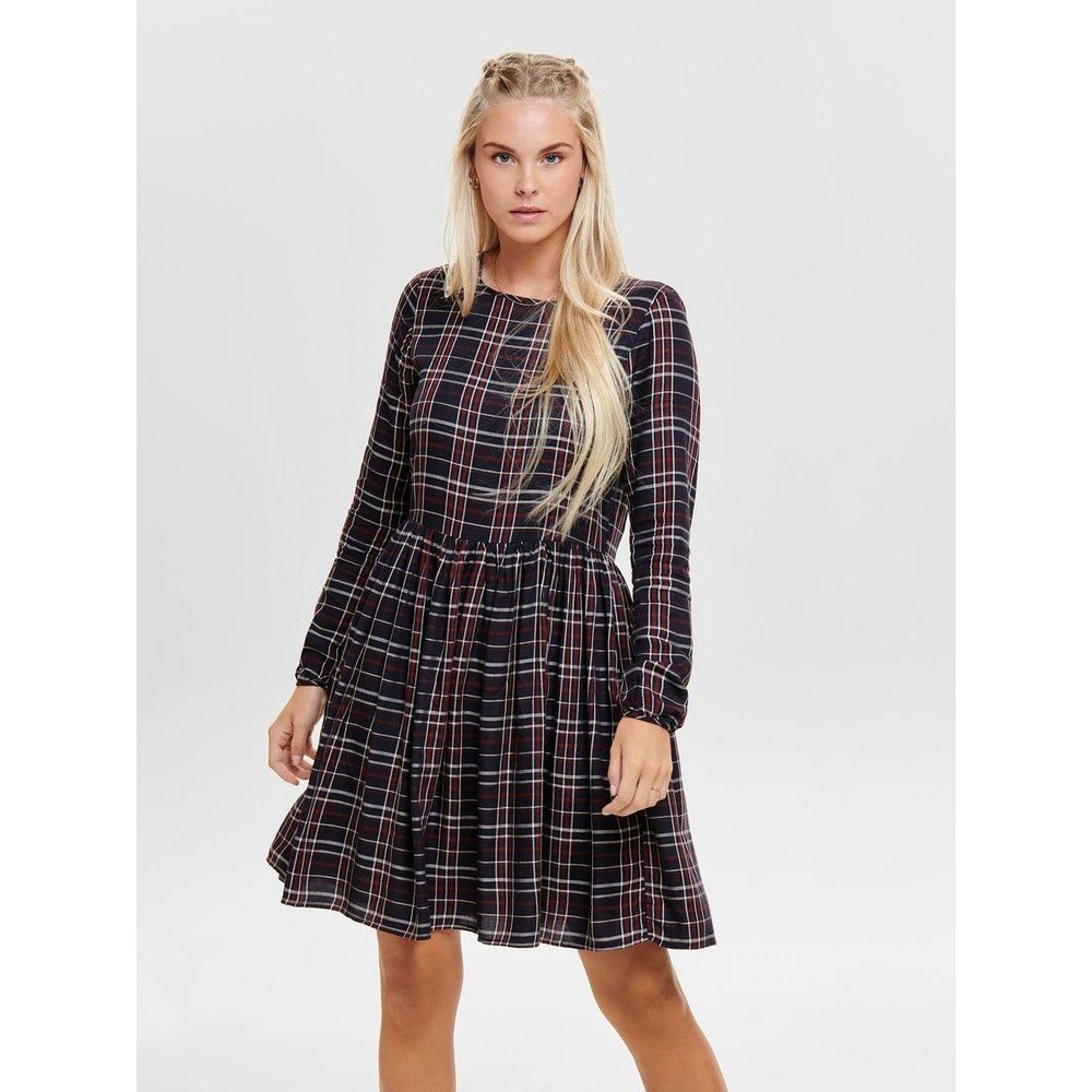 Robe-chemise Carreaux - Only - Modalova