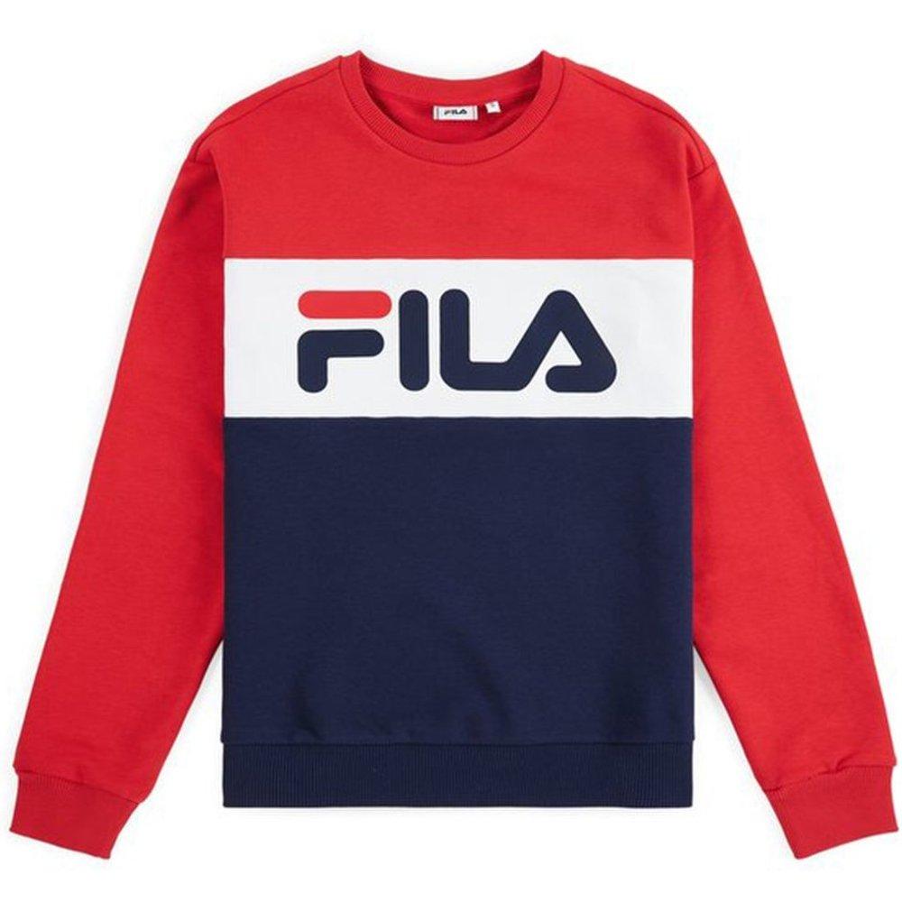 Sweat-shirt tricolore Leah Crew Sweat - Fila - Modalova
