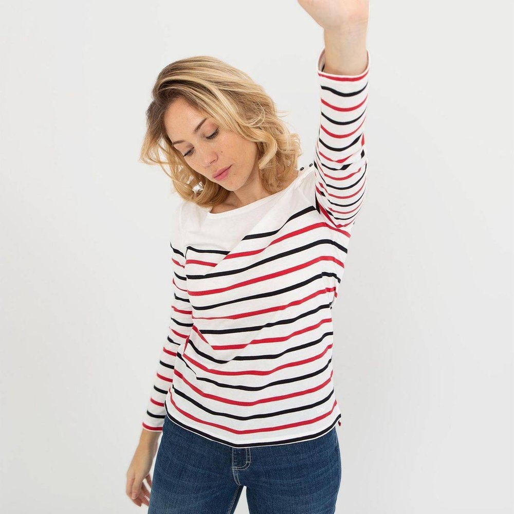 Tee-shirt manches longues LUMEALON - TBS - Modalova