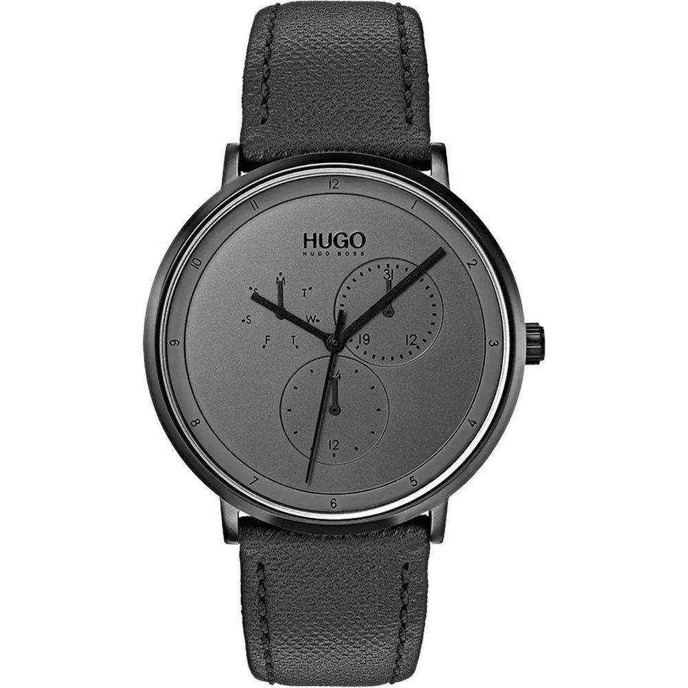 Montre en Cuir - Hugo Boss - Modalova