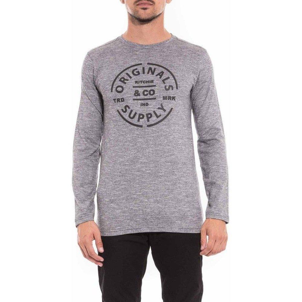 T-shirt Manches Longues Col Rond Juke - RITCHIE - Modalova