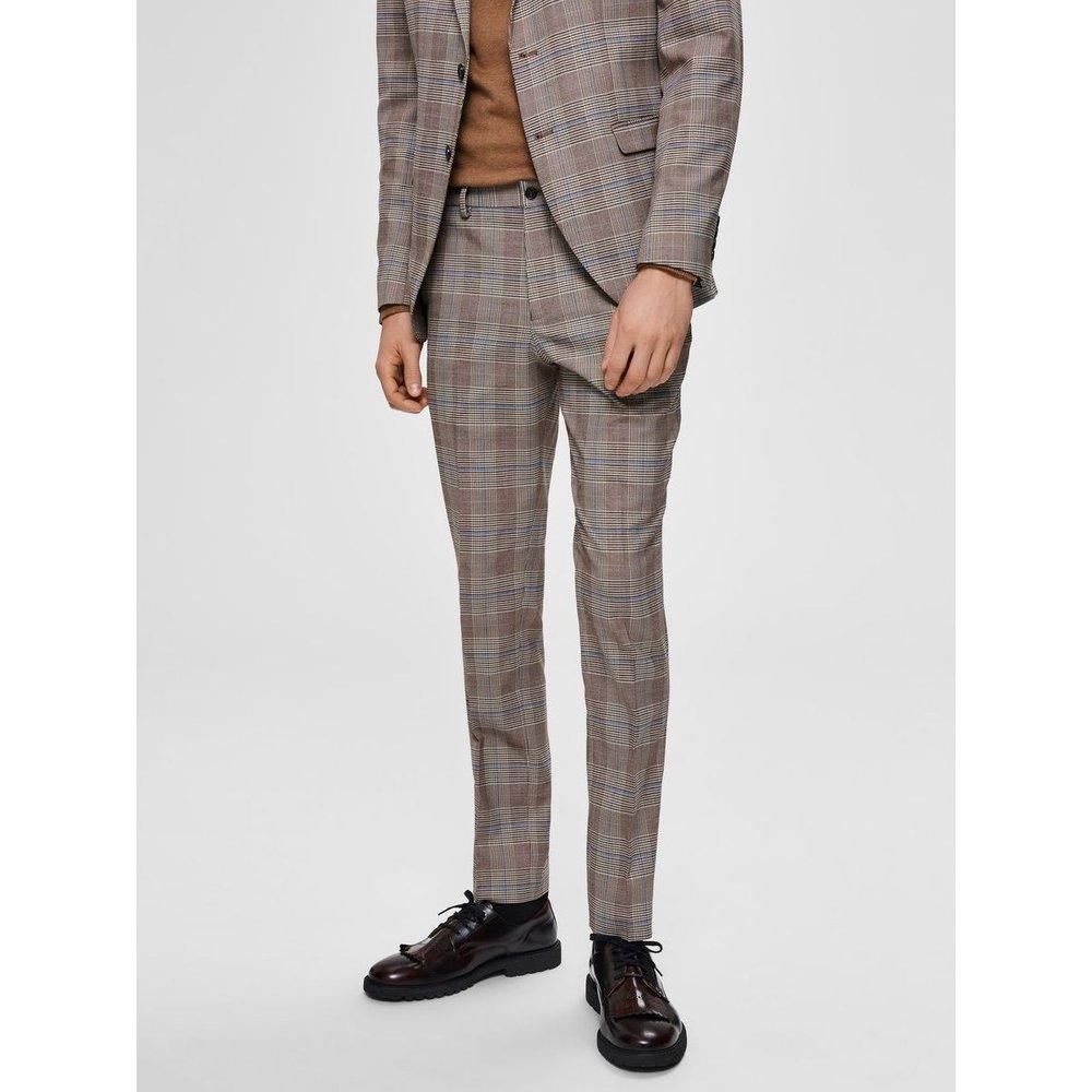 Pantalon de costume Coupe slim carreaux  - Selected Homme - Modalova