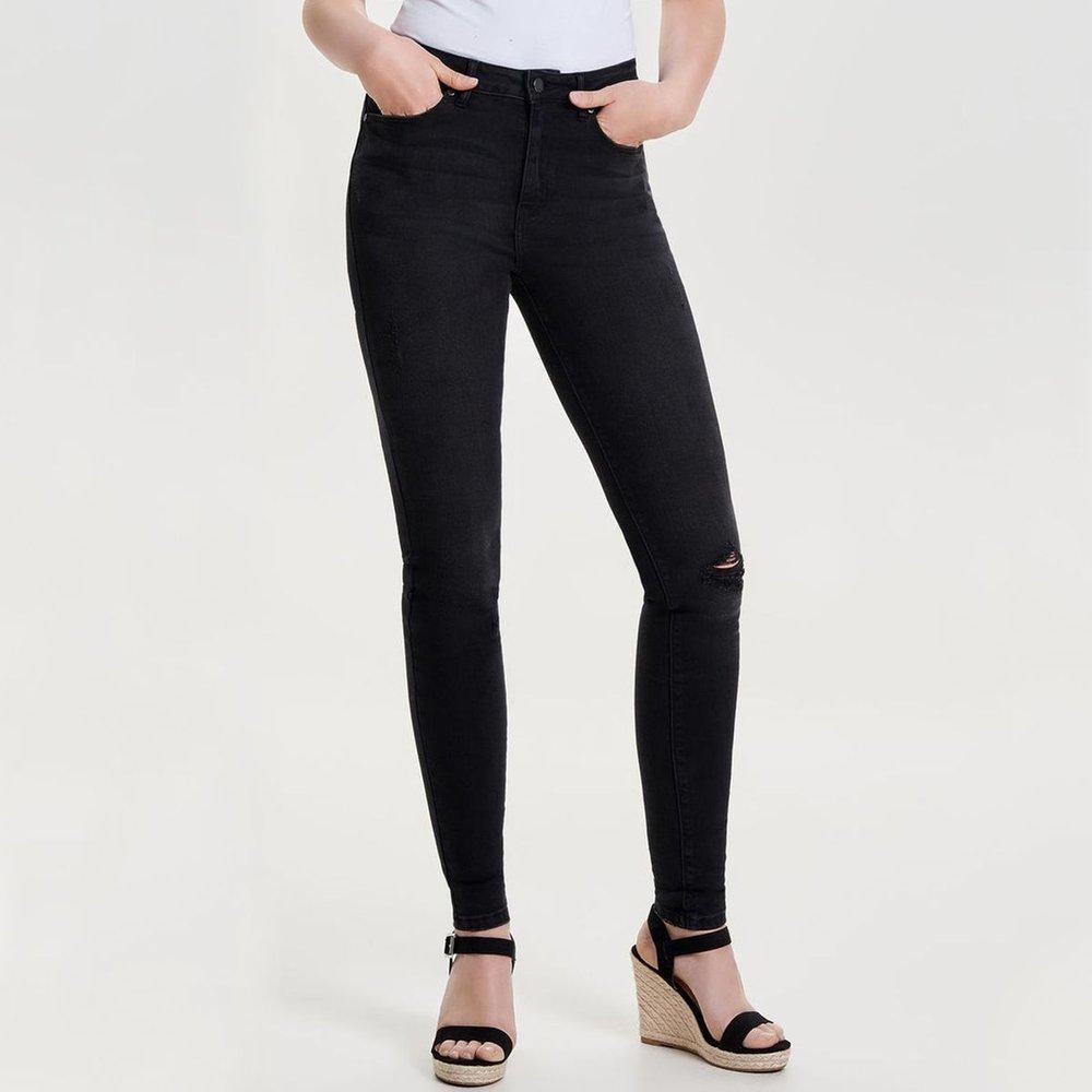 Jean regular, droit taille haute - Only - Modalova
