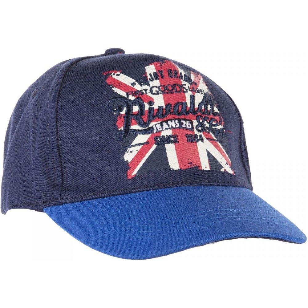 Casquette en coton drapeau anglais - RIVALDI - Modalova
