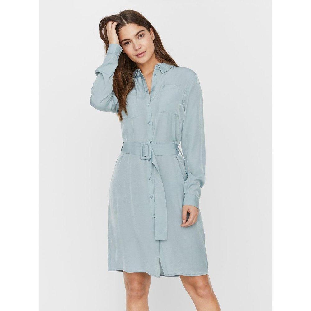 Robe-chemise Col montant - Noisy May - Modalova