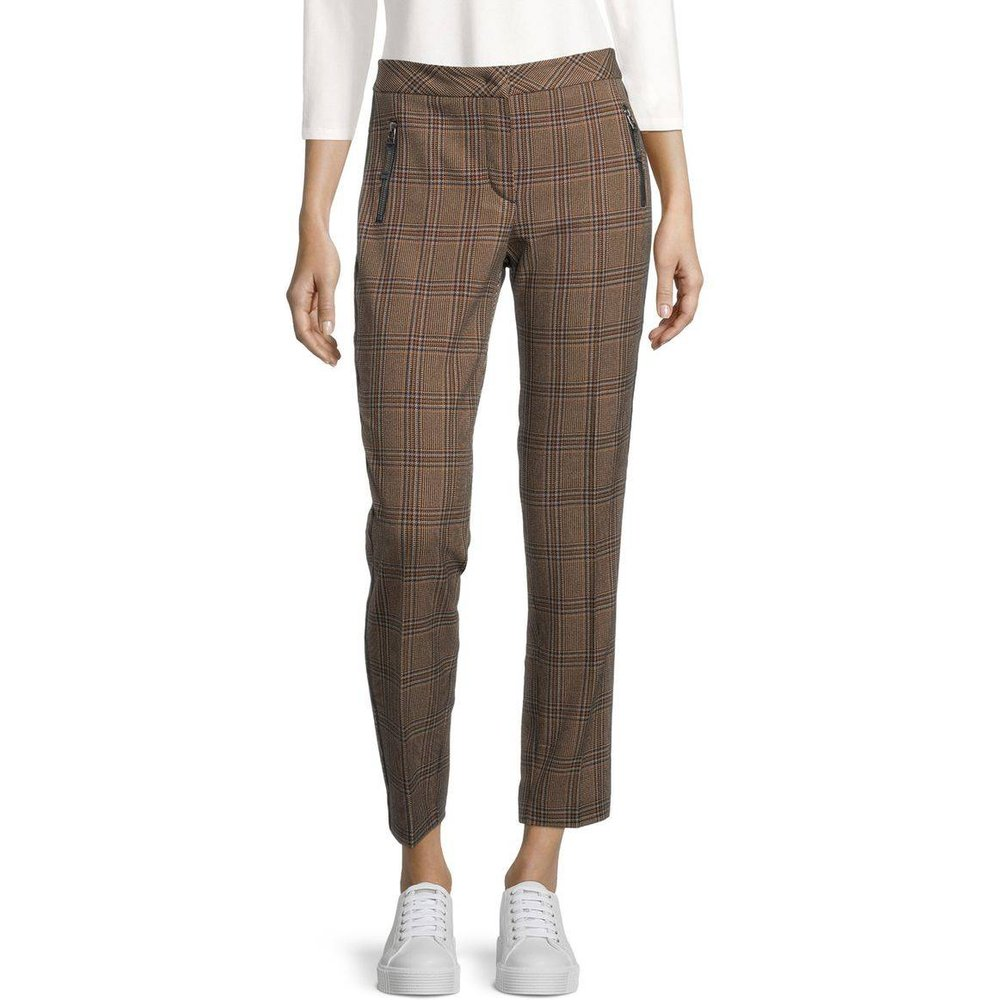 Pantalon à carreaux - Betty Barclay - Modalova