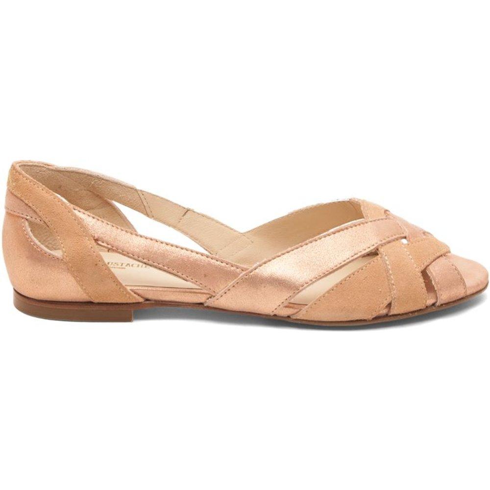 Sandales cuir plates Clémentines - M. MOUSTACHE - Modalova