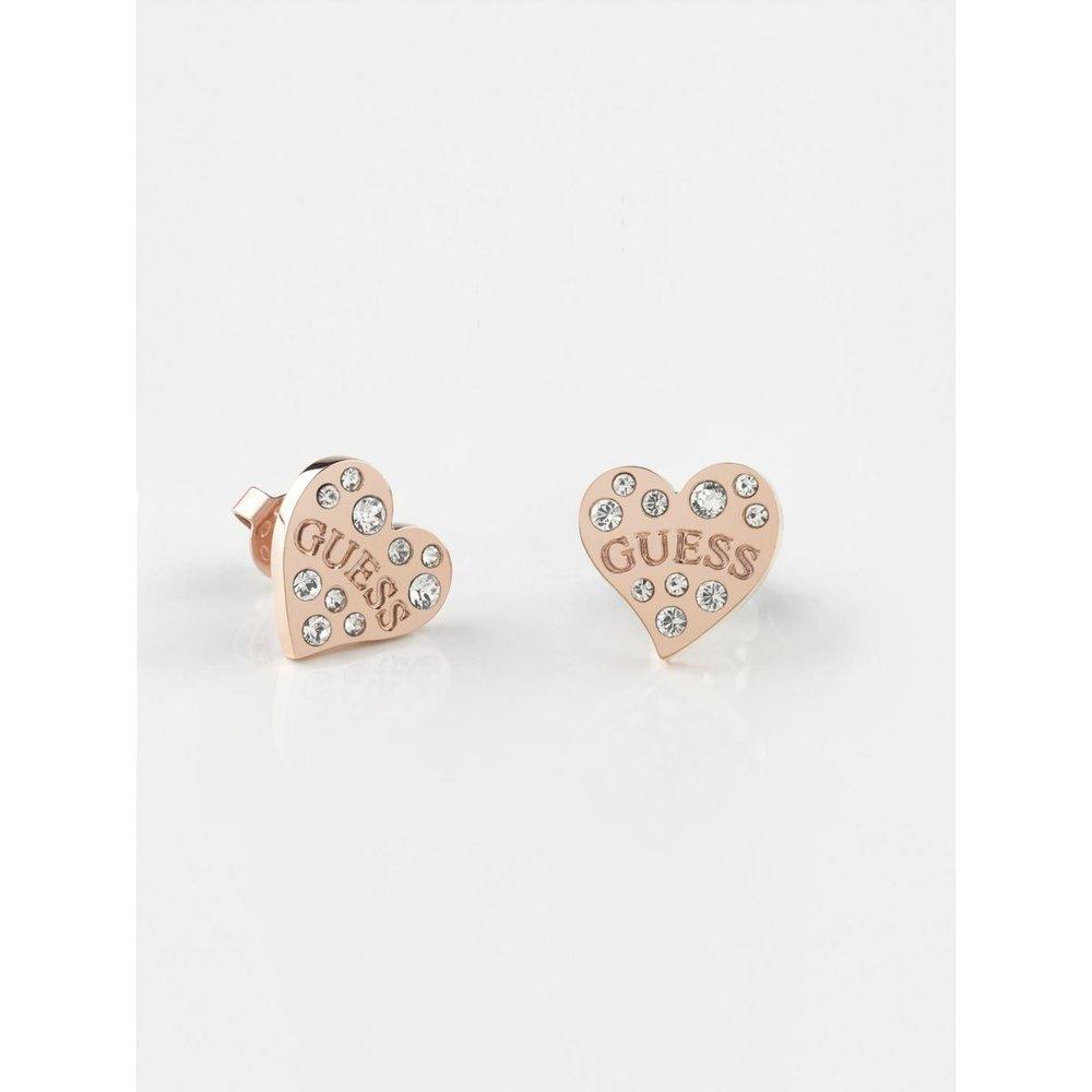 Boucles D'oreilles Heart Warming - Guess - Modalova