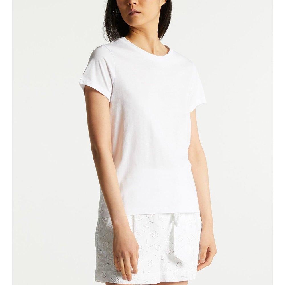 T-shirt Fan Droit Coton - GALERIES LAFAYETTE - Modalova
