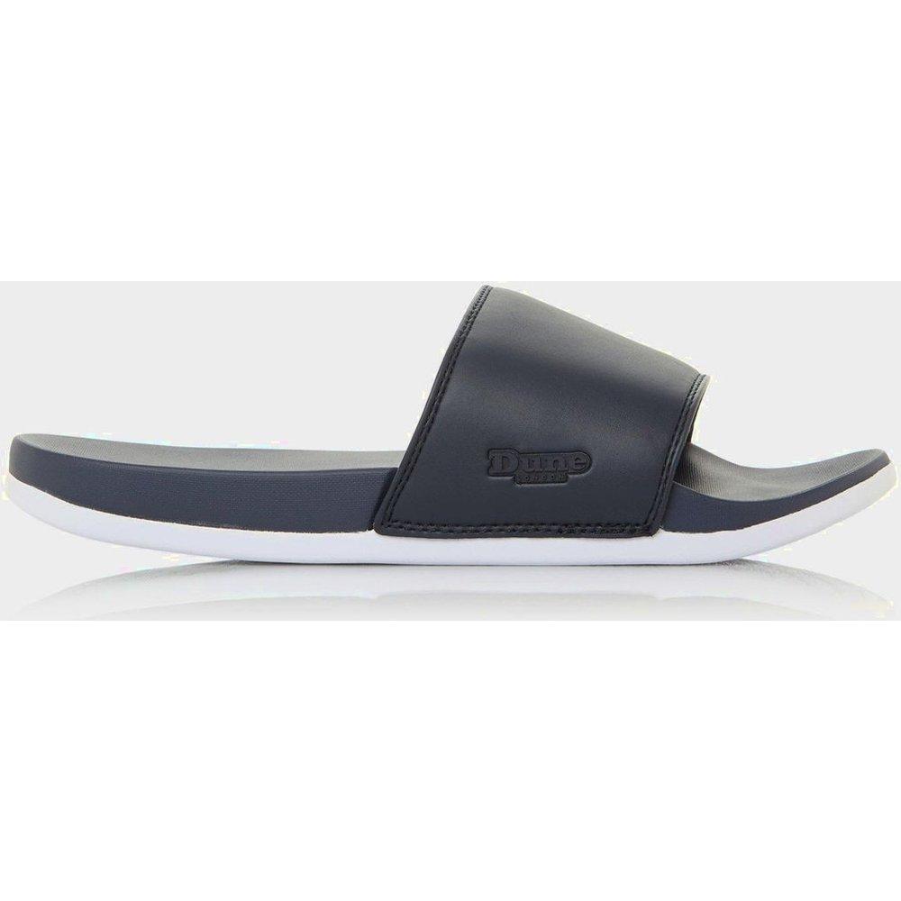Sandales à enfiler griffées à logo - HIDEOUTS - DUNE LONDON - Modalova