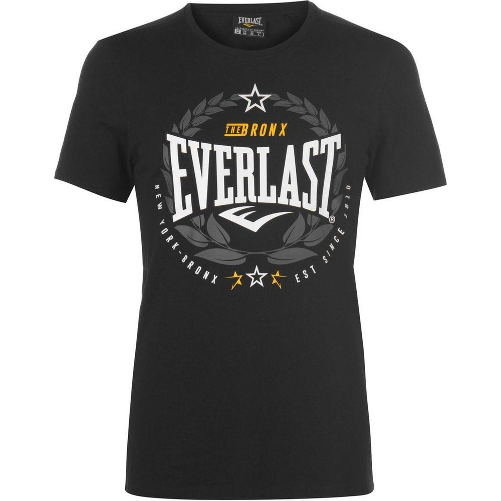 T-shirt col rond manche courte - Everlast - Modalova
