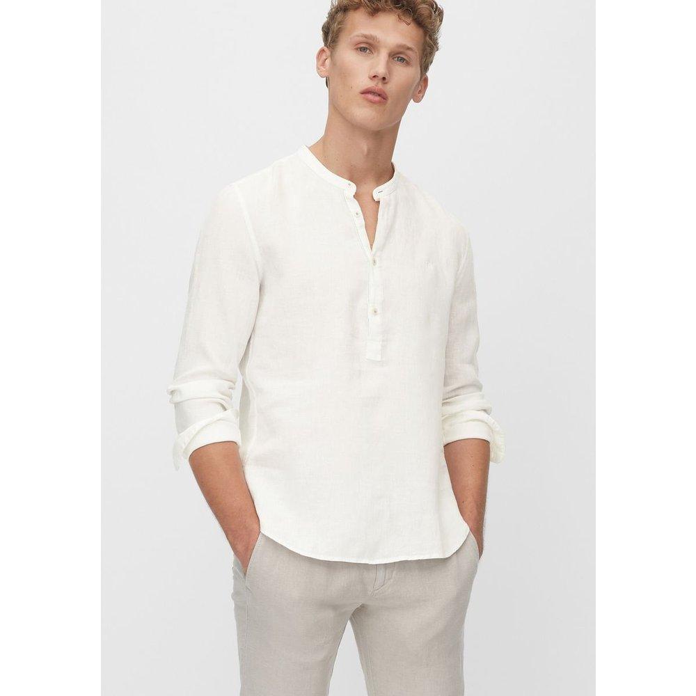Chemise à manches longues de coupe décontractée relaxed En pur lin - Marc O'Polo - Modalova