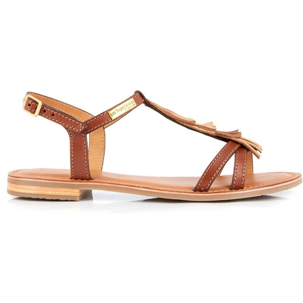 Sandales cuir Belie - LES TROPEZIENNES PAR M BELARBI - Modalova