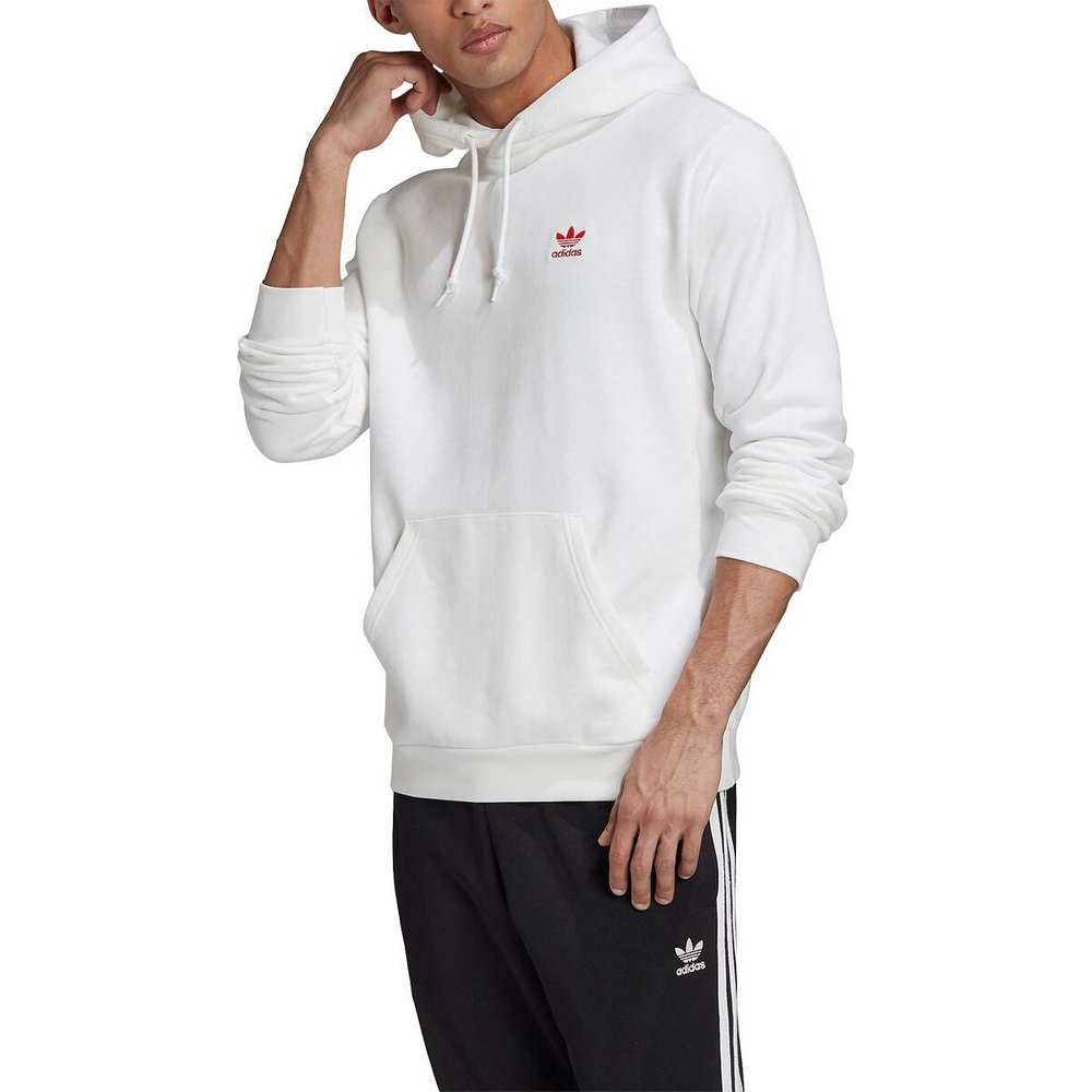 Sweat à capuche petit logo Trefoil - adidas Originals - Modalova