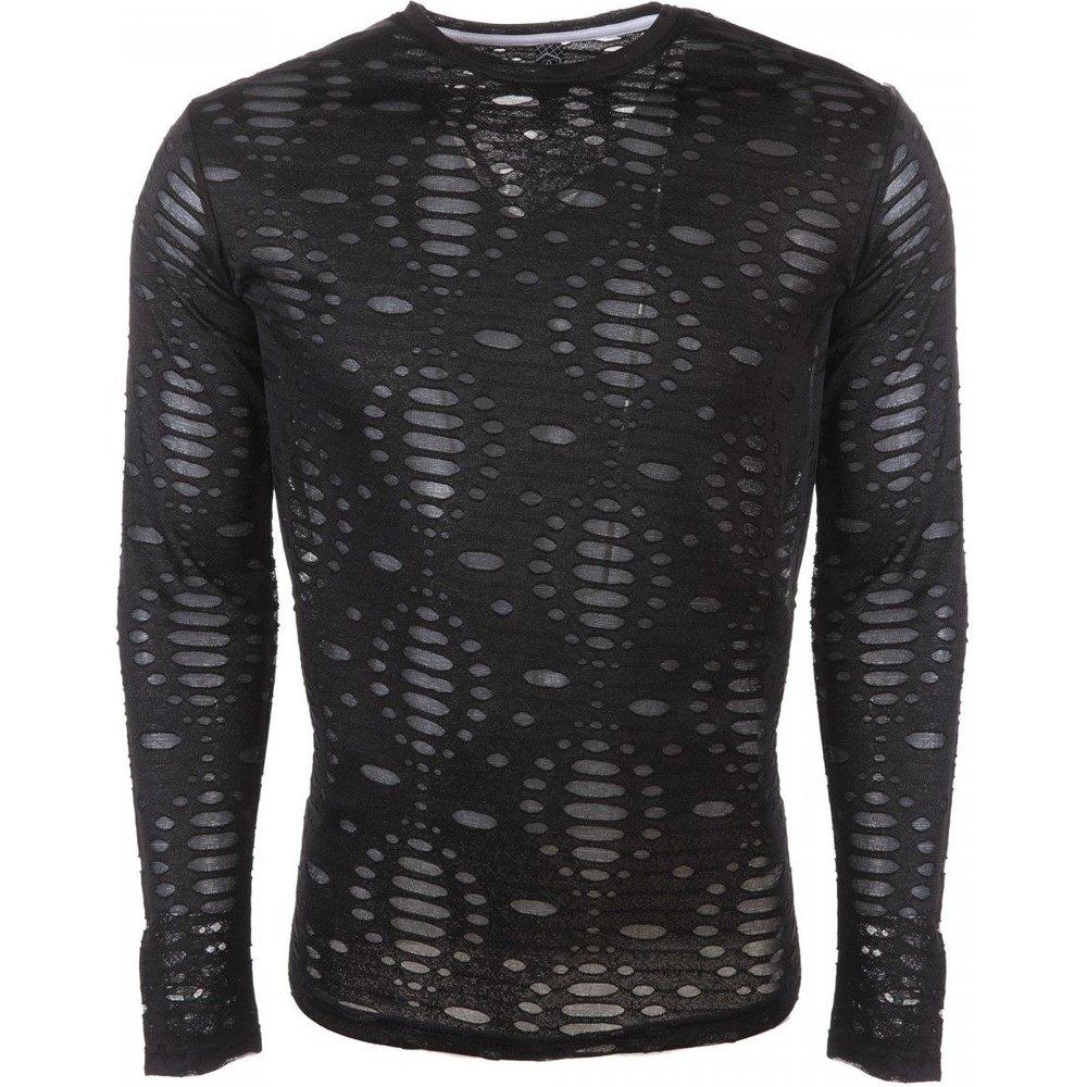 T-shirt en coton effet déchiré - RIVALDI - Modalova