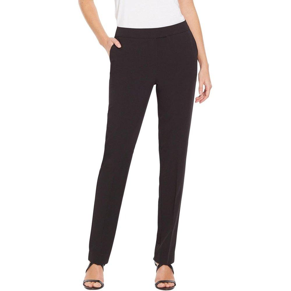 Pantalon classique en tissu sergé - CHARMANCE - Modalova