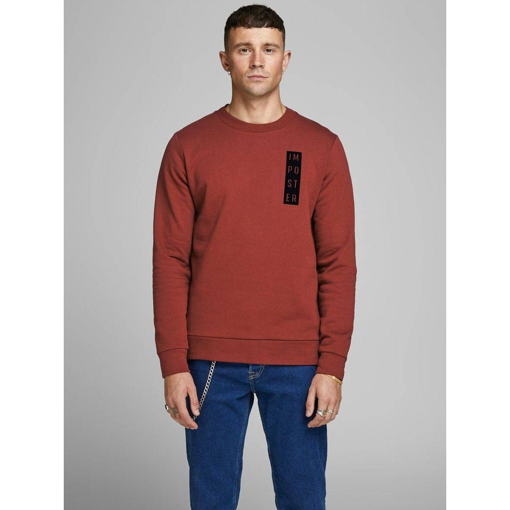 Sweat-shirt Sweat-shirt imprimé - jack & jones - Modalova
