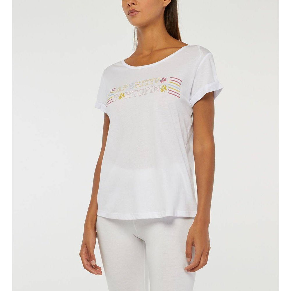 T-shirt Alabama Droit Lettrage - GALERIES LAFAYETTE - Modalova
