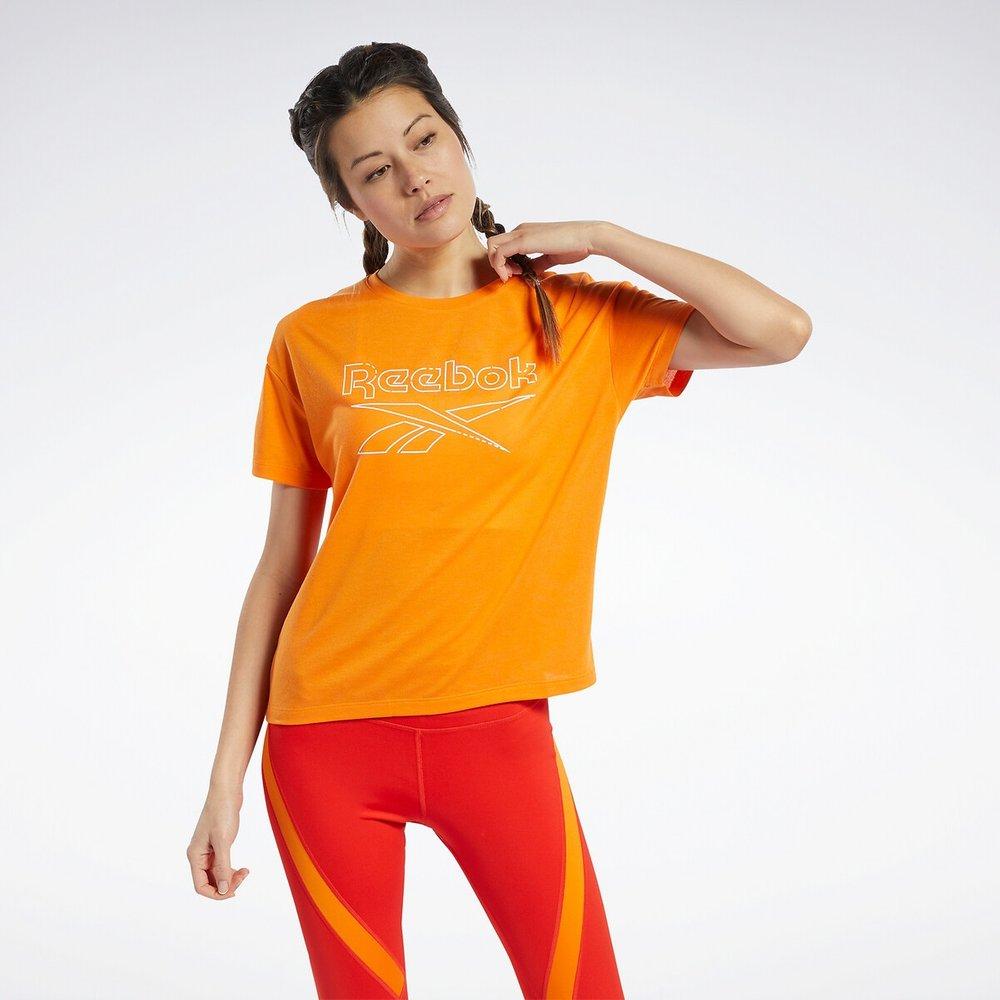 T-shirt manches courtes, logo - REEBOK SPORT - Modalova