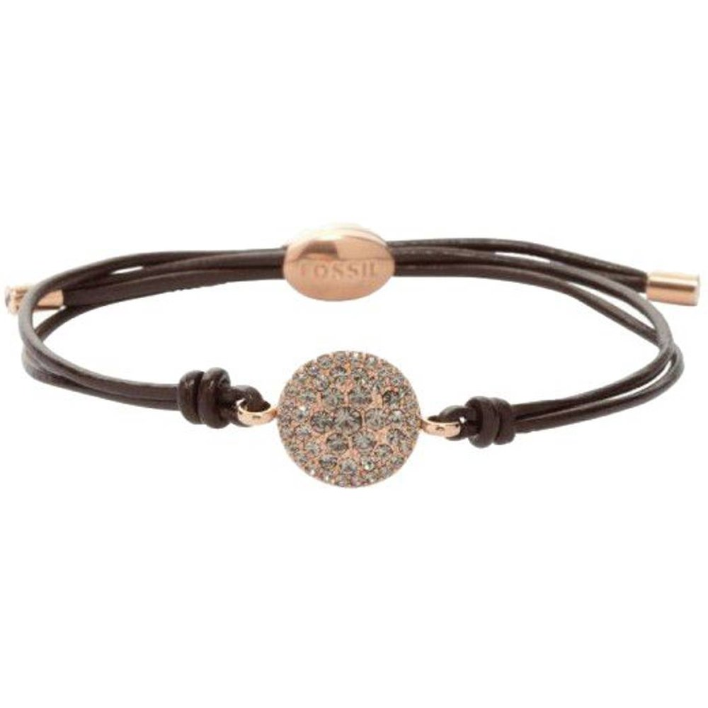 Bracelet Cuir VINTAGE GLITZ - Fossil - Modalova