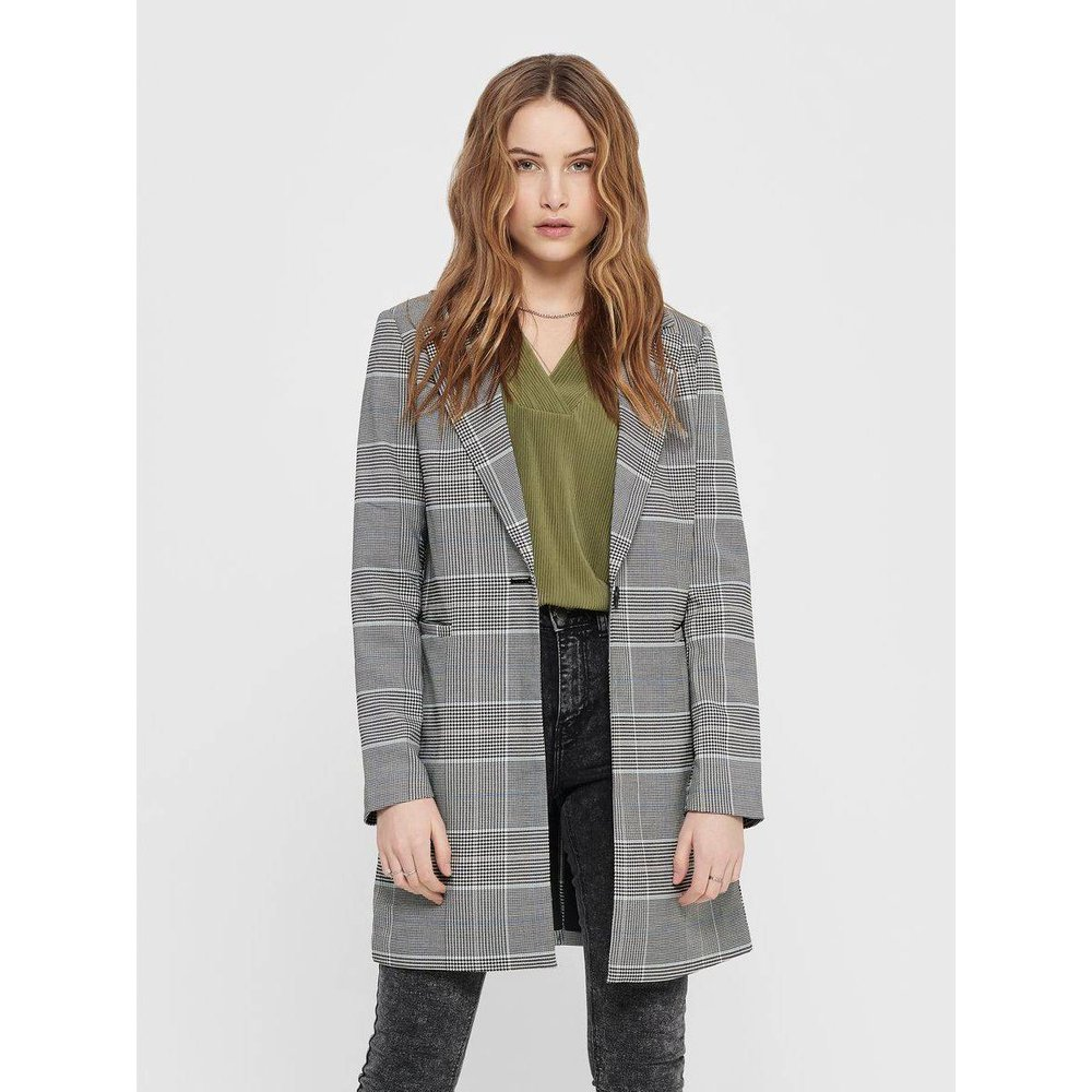 Manteau Carreaux - Only - Modalova