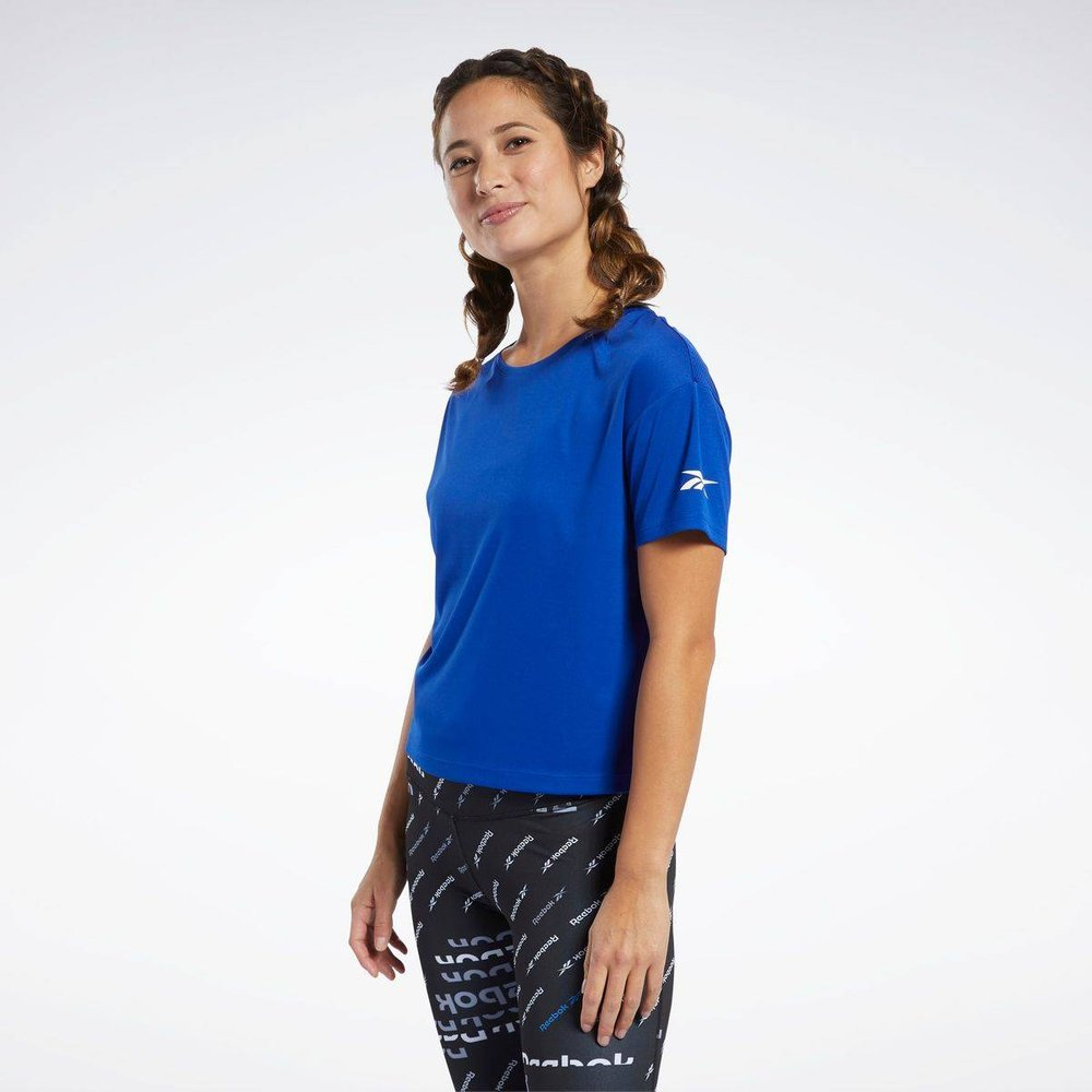 T-shirt avec logo - REEBOK SPORT - Modalova
