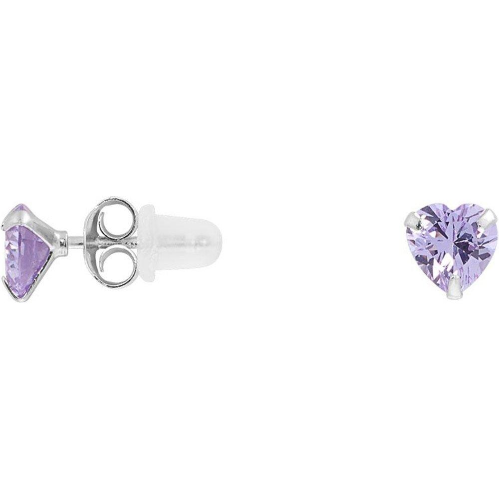 Boucles d'oreilles en Argent 925/1000 et Oxyde - CLEOR - Modalova