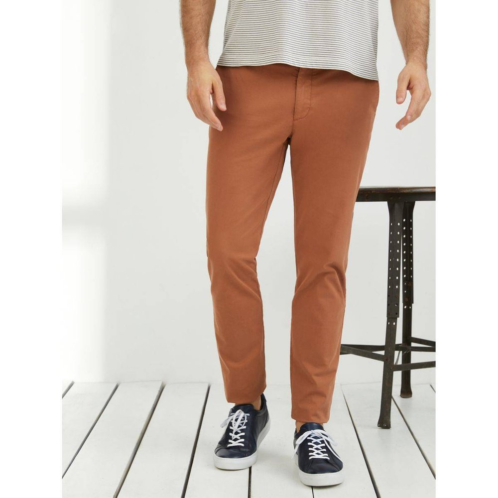 Pantalon chino Slim Fit Alex - CYRILLUS - Modalova