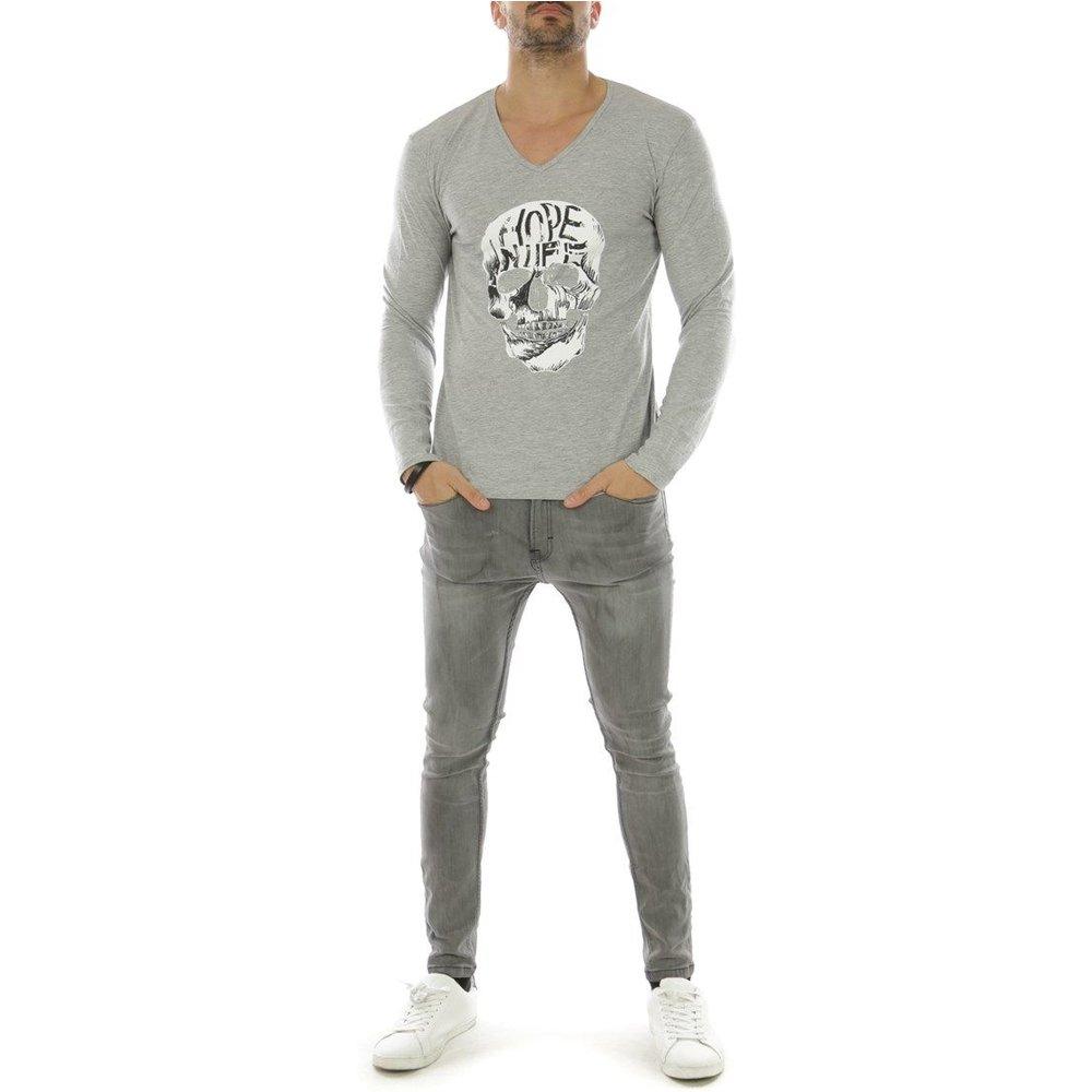T-shirt manche longue col V ALUNTOS - HopenLife - Modalova