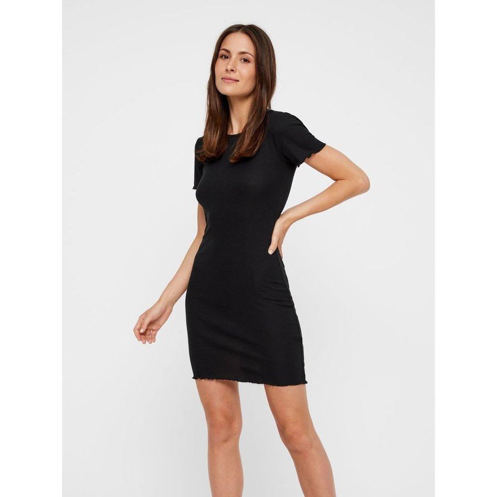 Mini-robe côtelé - Pieces - Modalova