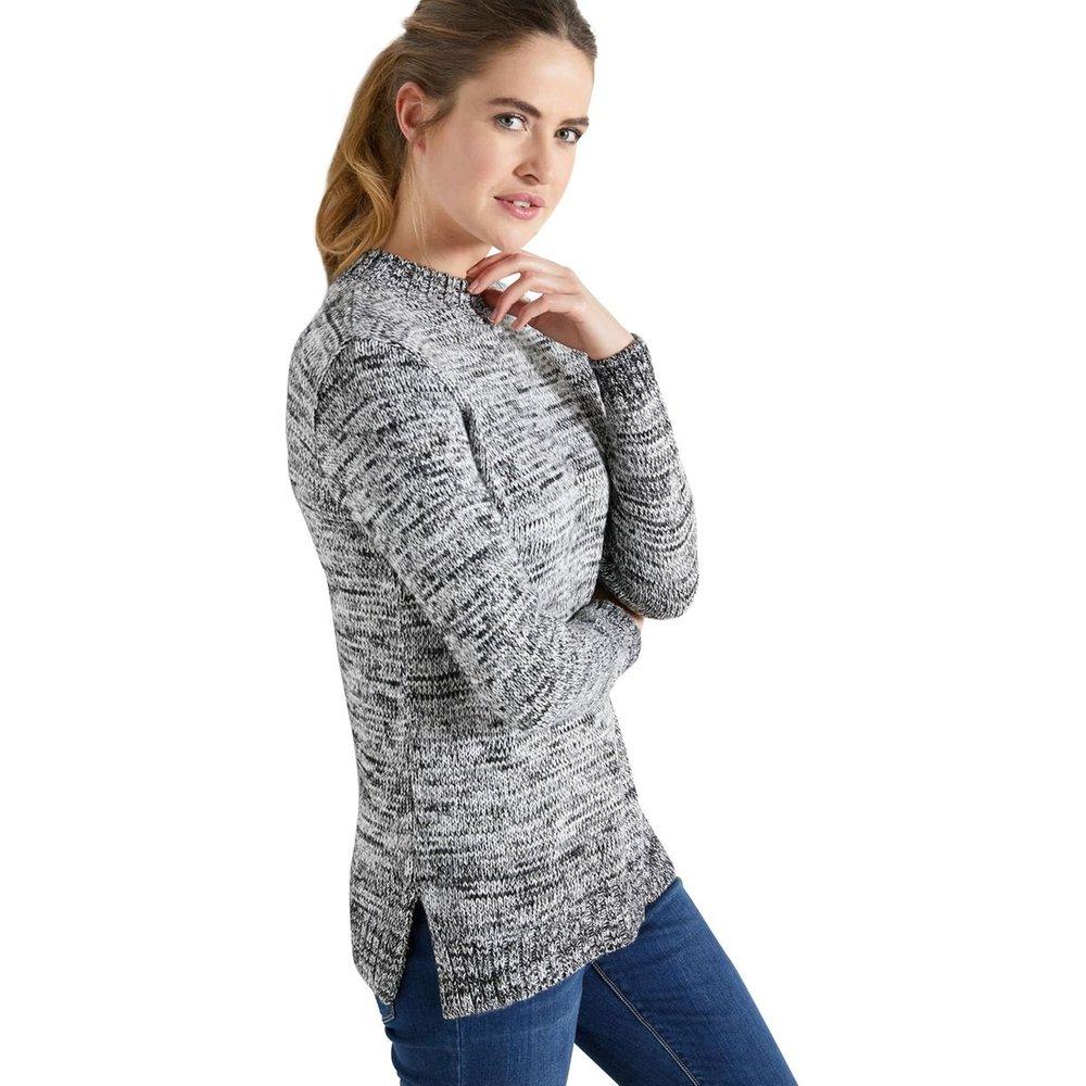 Pull tunique manches longues maille chin - BALSAMIK - Modalova