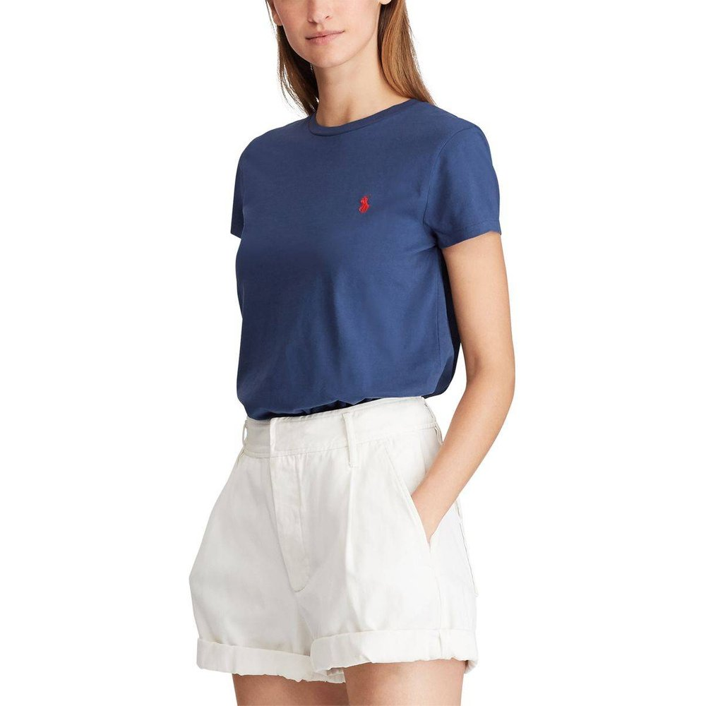 Tee shirt col rond manches courtes - Polo Ralph Lauren - Modalova