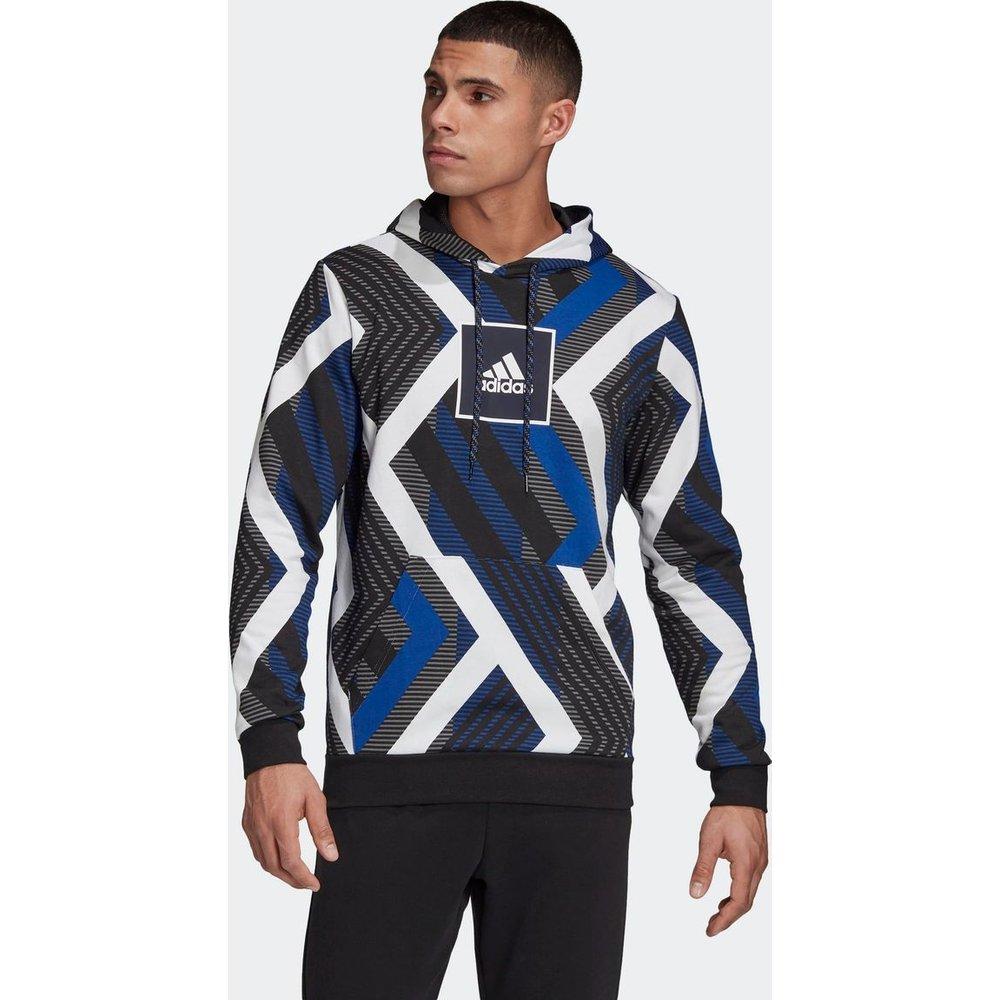 Sweat-shirt à capuche Allover Print - adidas performance - Modalova