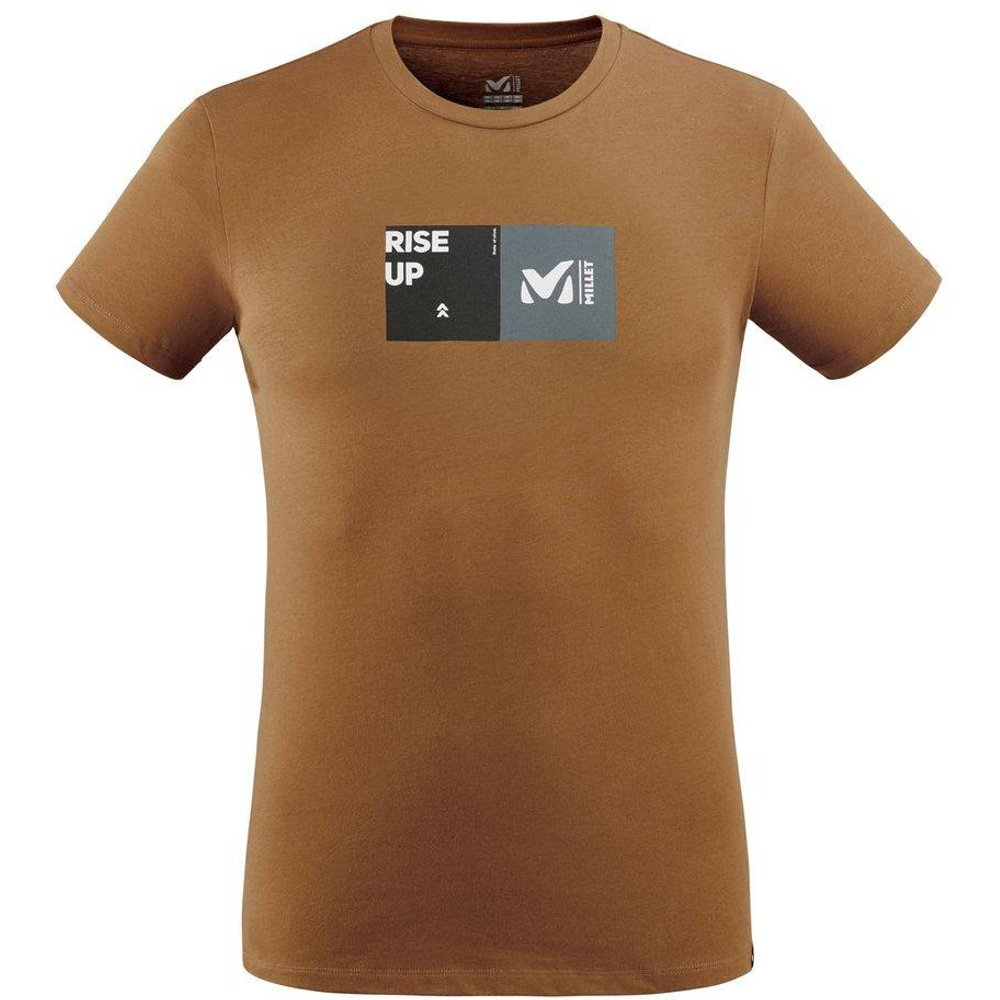 Tee-shirt manches courtes SQUARE - Millet - Modalova