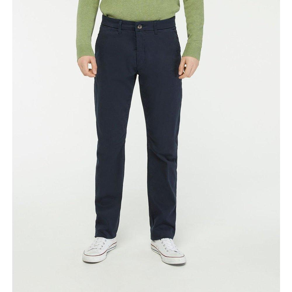 Pantalon Chino Gutdroit Straight Stretch - GALERIES LAFAYETTE - Modalova