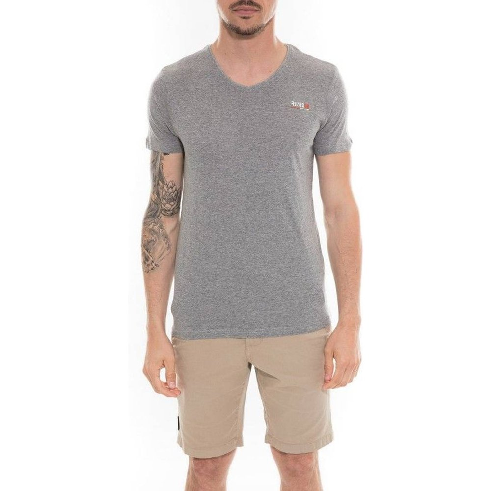 T-shirt Col V En Coton Neth - RITCHIE - Modalova
