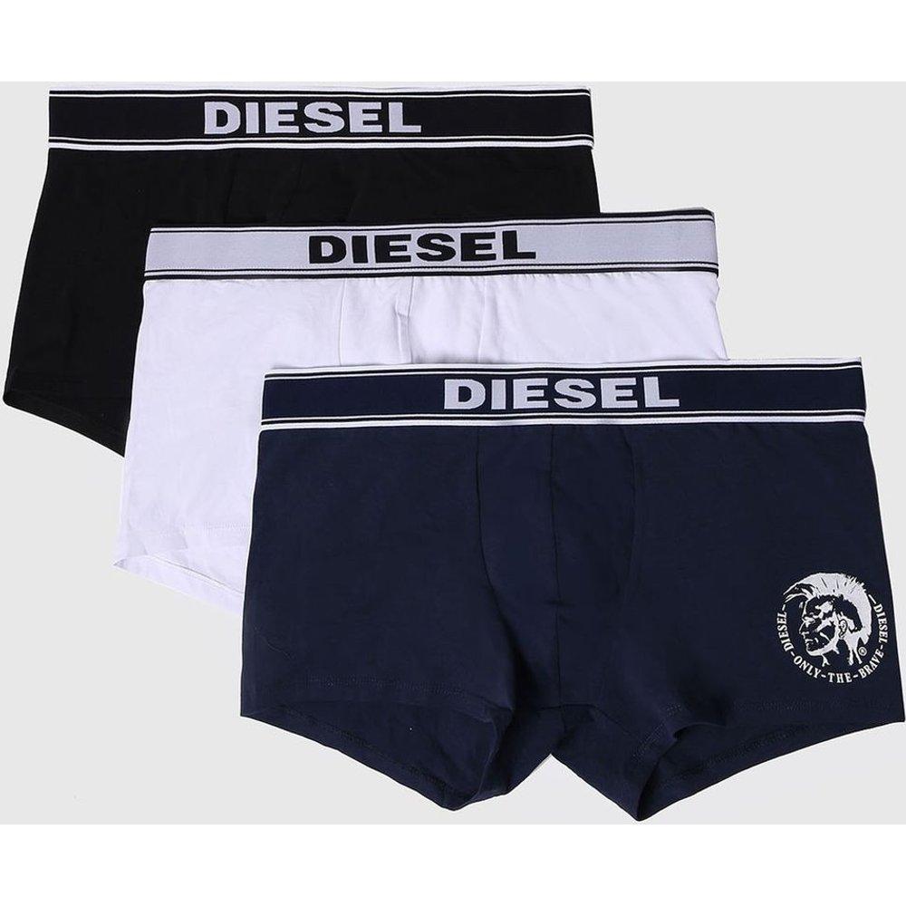 Lot de 3 boxers coton stretch classique - Diesel - Modalova