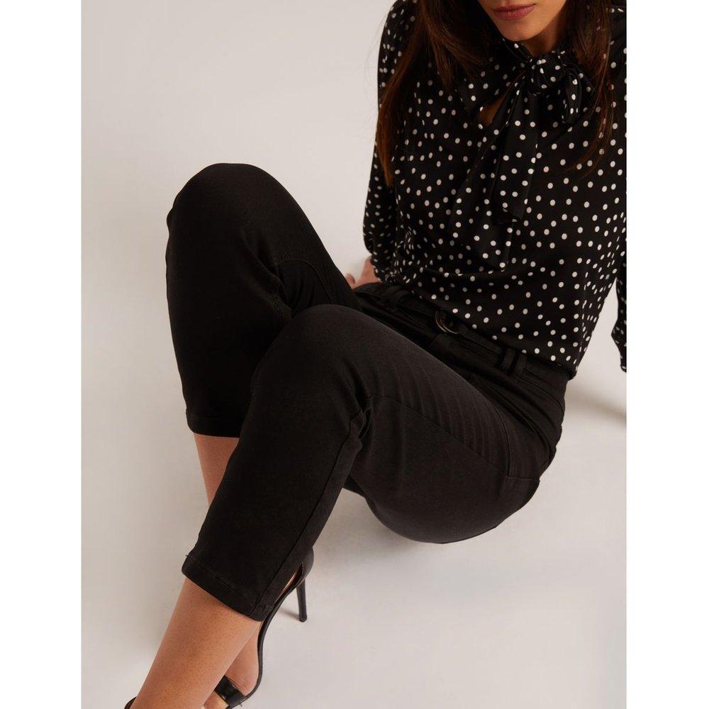 Pantalon slim taille haute 7/8ème - Morgan - Modalova