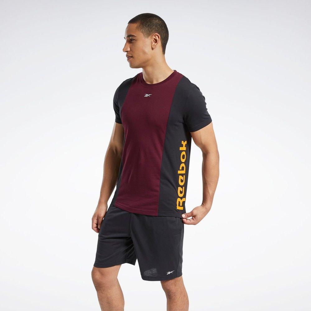 T-shirt avec logo linéaire Training Essentials - REEBOK SPORT - Modalova