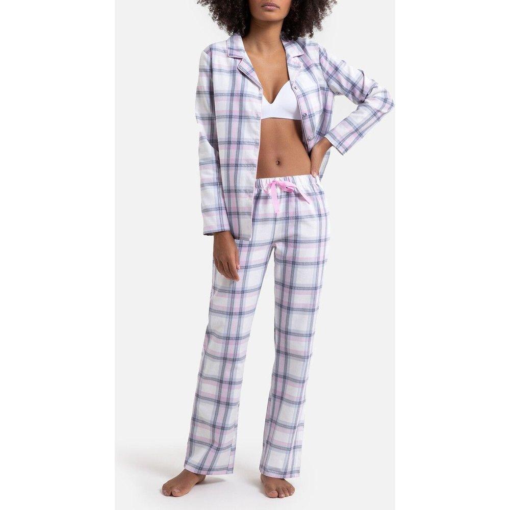 Pyjama à carreaux pur coton - LA REDOUTE COLLECTIONS - Modalova